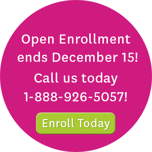 Open enrollment ends December 15! Call us today at 1-888-926-5057 or visit enroll.ambetterhealth.com to enroll today!